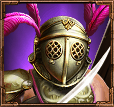 Game of Gladiators video slot - Provocator symbol