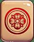 Mahjong 88 video slot - Red circle symbol