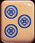 Mahjong 88 video slot - Blue cirkels symbol