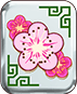 Mahjong 88 video slot Play'n GO - Pink flowers symbol