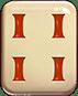 Mahjong 88 video slot - Red stripes symbol