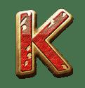 Medusa Megaways video slot - K symbol