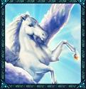 Medusa Megaways video slot - Pegasus horse symbol