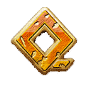 Medusa Megaways video slot - Q symbol
