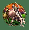 Medusa Megaways video slot - Trojan shield symbol