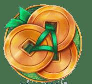 Mega Dragons video slot - Coins symbol