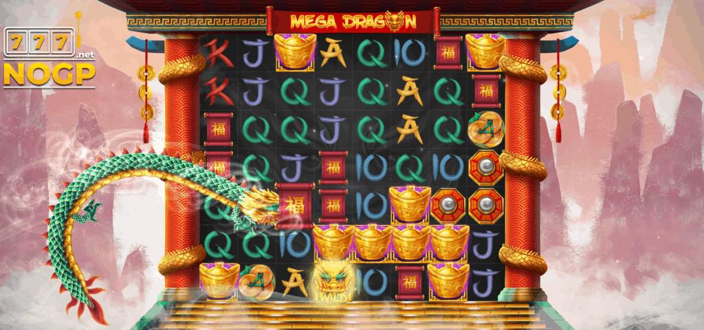 Mega Dragons Groene Draak screenshot
