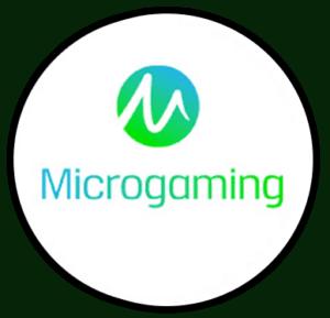 Microgaming logo rond