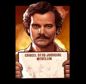 Pablo Escobar Narcos - Locked Up symbool