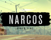 Narcos video slot logo NetEnt
