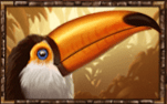 Phoenix Reborn video slot - Toucan symbol