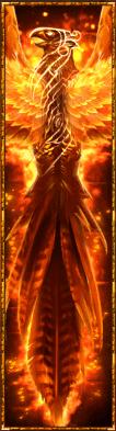 Phoenix Reborn video slot - Wild symbol