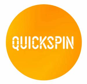 Quickspin logo rond