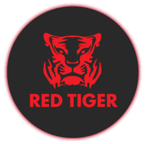 Red Tiger Logo Rond