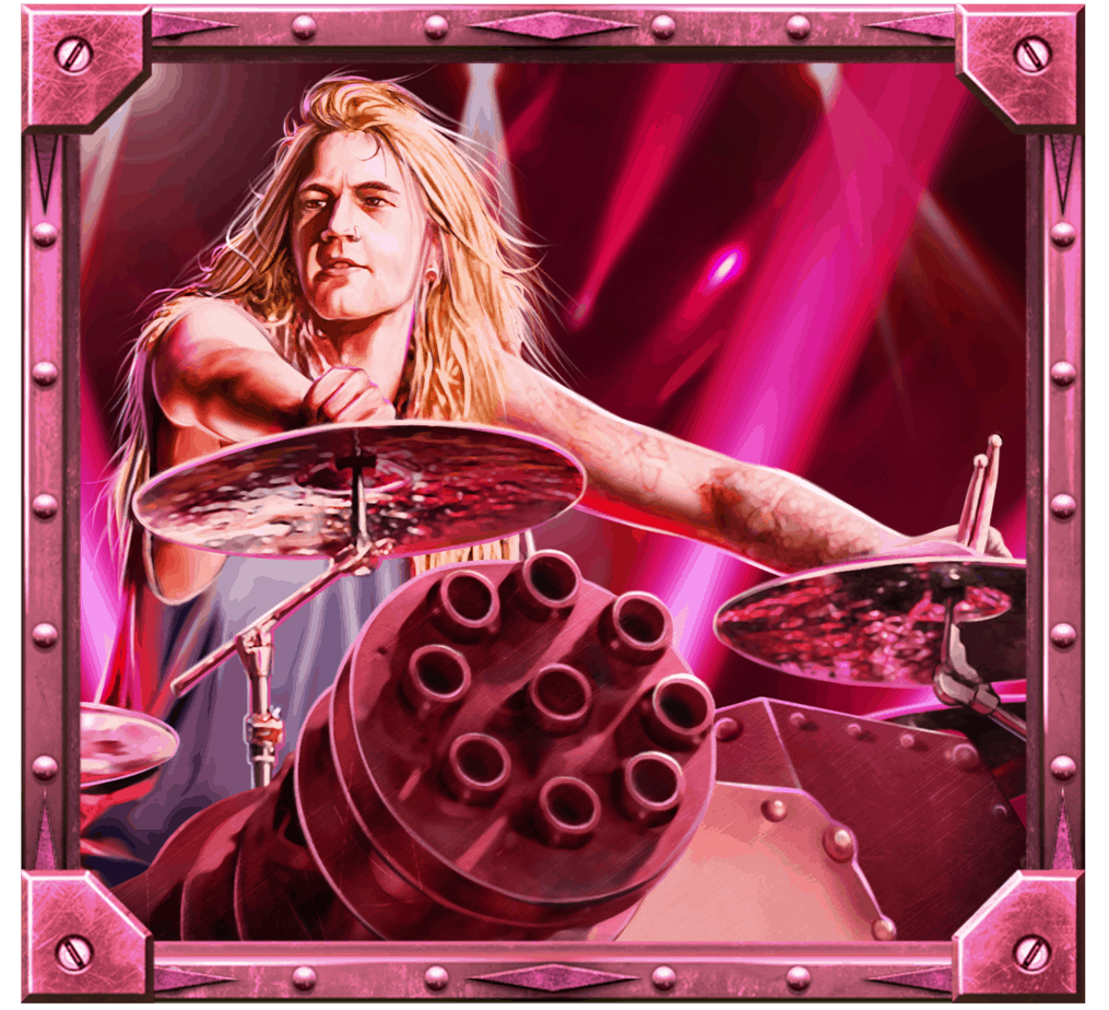 Sabaton video slot - Hannes symbol