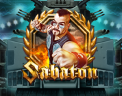 Sabaton video slot logo