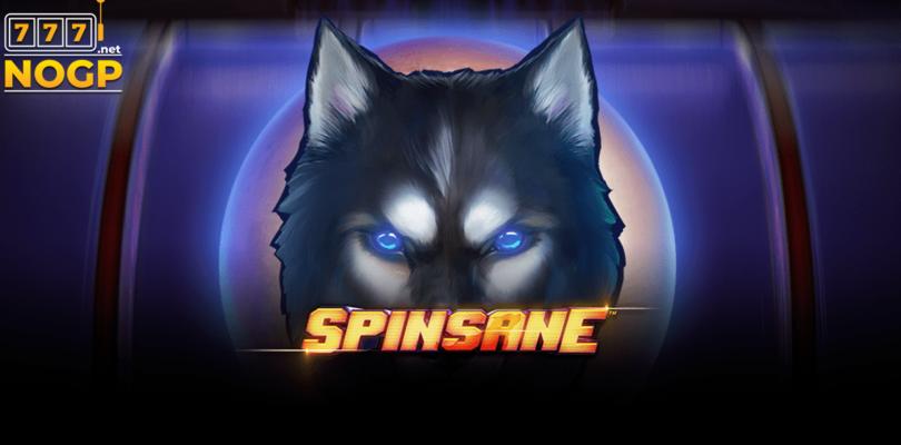 Spinsane video slot logo
