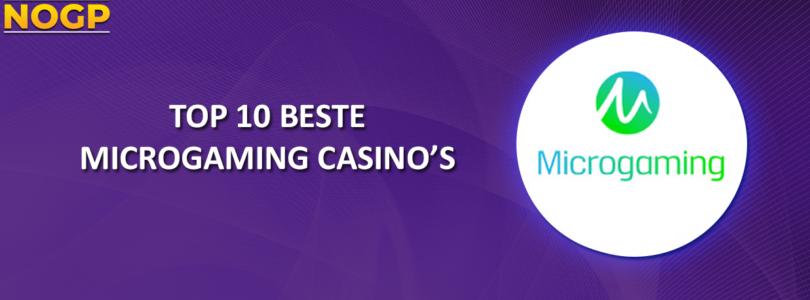 NOGPs Top 10 beste Microgaming Casino's