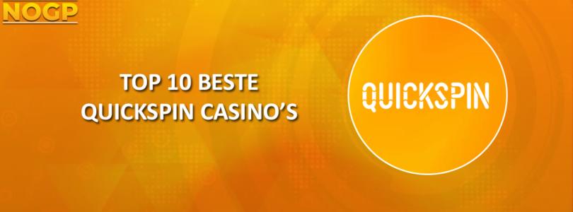 Top 10 beste Quickspin Casino's
