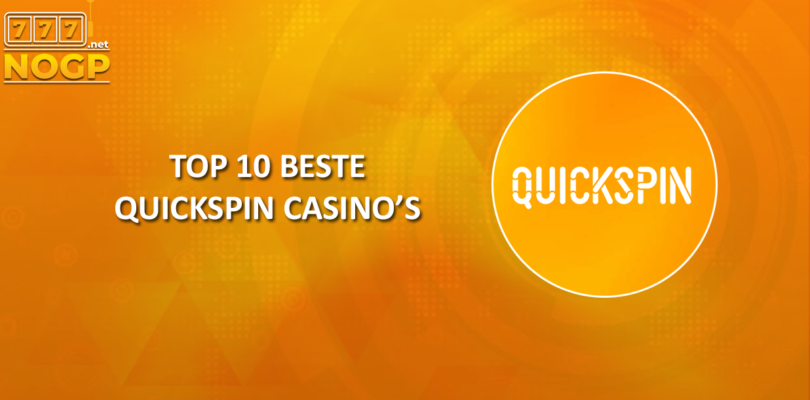 Top 10 beste Quickspin Casino's
