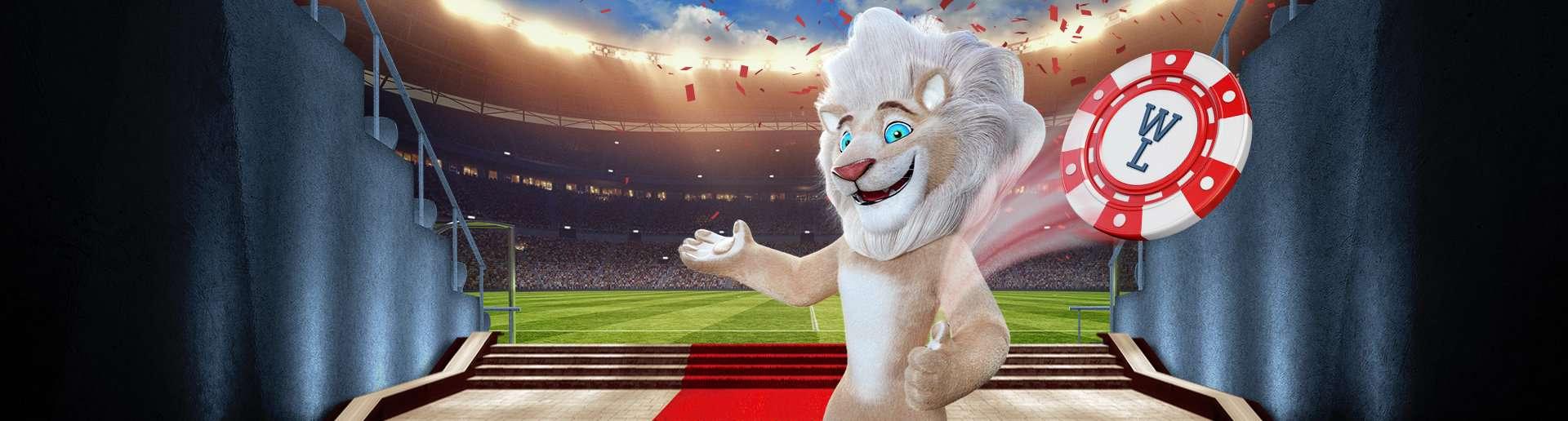 White Lion Banner