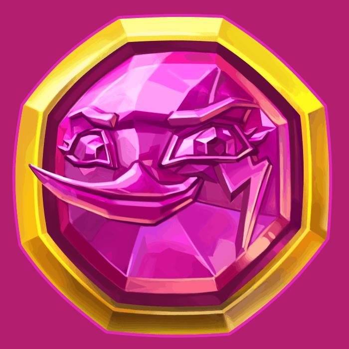 Wild Worlds video slot NetEnt - Pink symbol