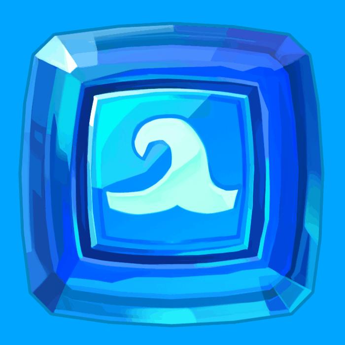 Wild Worlds video slot NetEnt - Square symbol