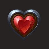 Wilhelm Tell video slot - Heart symbol