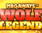 Wolf Legend Megaways Blueprint video slot logo