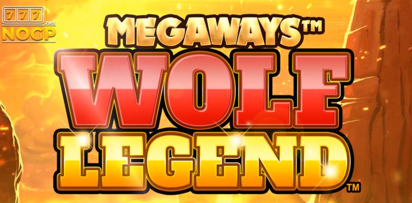Wolf Legend Megaways Blueprint video slot logo