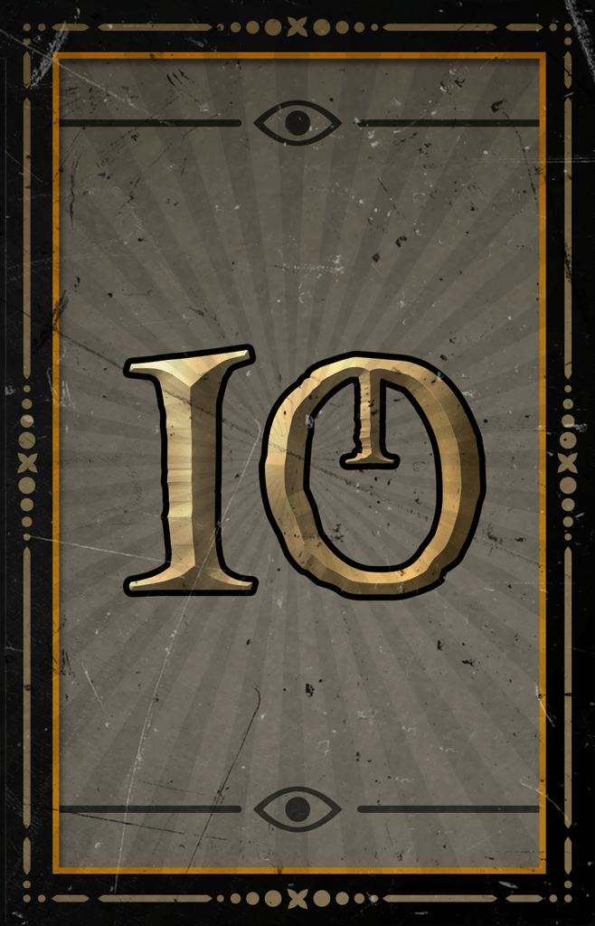 Arcane Reel Chaos video slot - 10 symbol