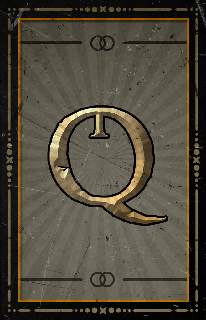 Arcane Reel Chaos video slot - Q symbol