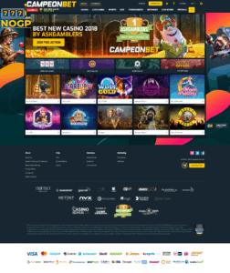 Campeon Bet Casino screenshot