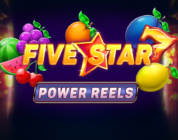 Five Star Power Reels video slot logo