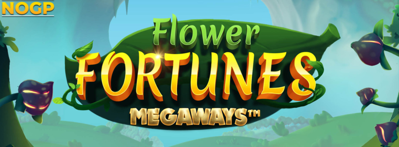 Flower Fortunes Megaways slot logo
