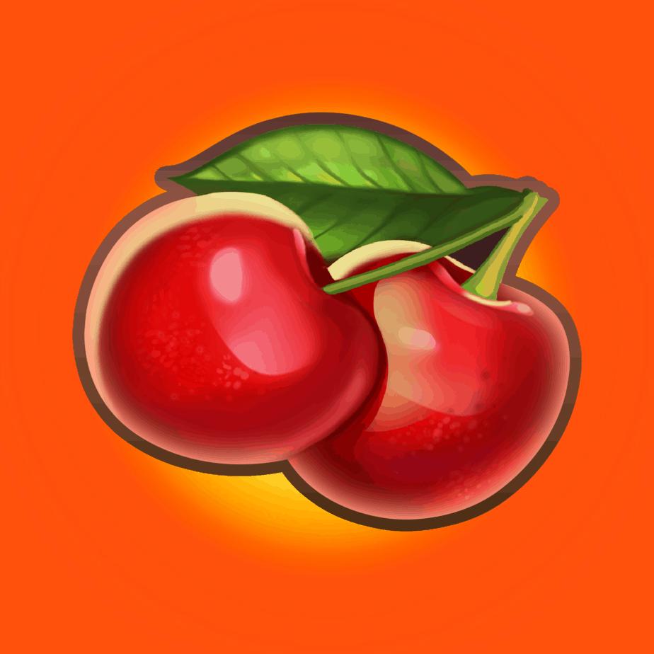 Inferno Star video slot - Cherry symbol