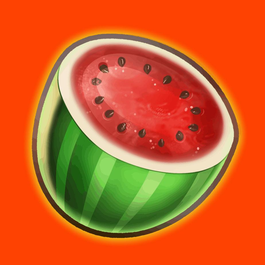 Inferno Star video slot - Melon symbol