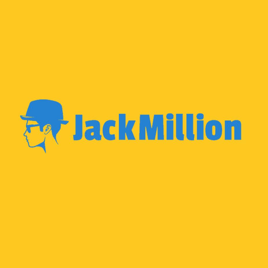 Jackmillion logo vierkant