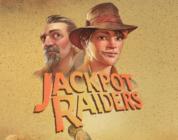 Jackpot Raiders video slot logo