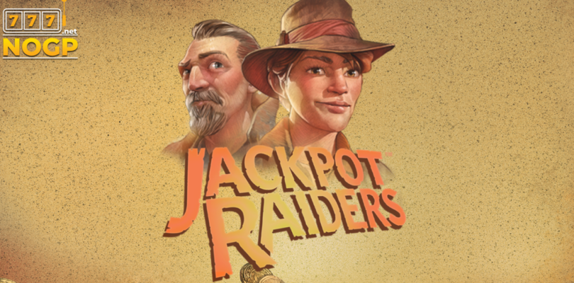 Jackpot Raiders video slot logo