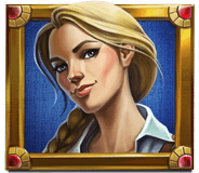Mercy of the Gods video slot - Female explorer symbol