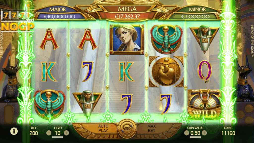 Mercy of the Gods video slot - Gift of life feature screenshot