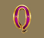 Mercy of the Gods video slot - Q symbol