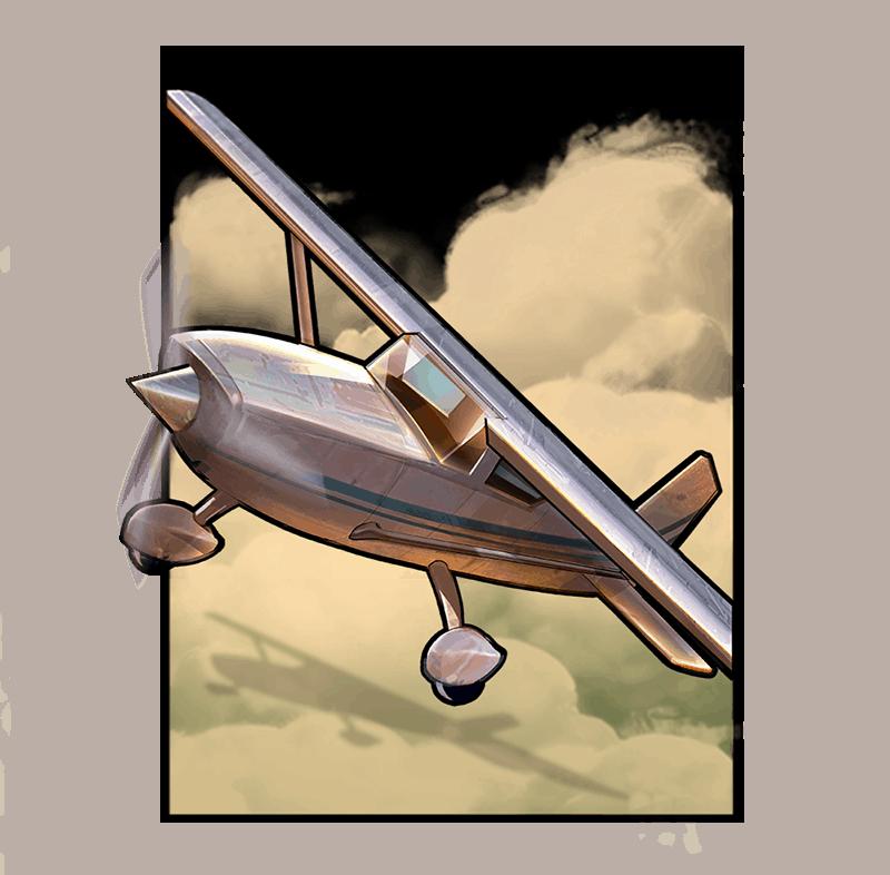Narcos video slot - Plane symbol