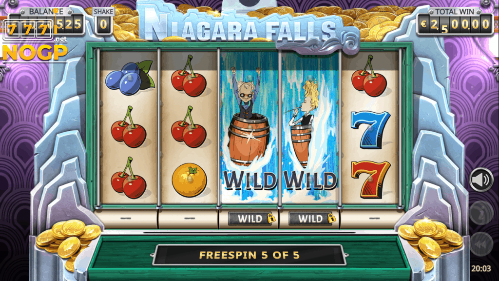 Niagara Falls Free Spins feature