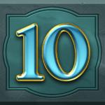 Perfect Gems video slot - 10 symbol