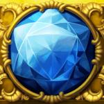 Perfect Gems video slot - Blue gem symbol