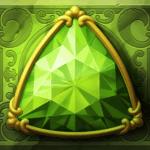 Perfect Gems video slot - Green gem symbol