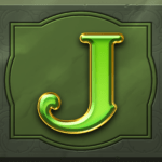 Perfect Gems video slot - J symbol