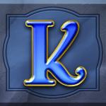 Perfect Gems video slot - K symbol